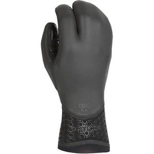 2020 Xcel Drylock 5mm 3 Finger Gloves ACV57387 - Black