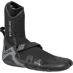 2021 Xcel Drylock 5mm Split Toe Boots ACV59019 - Black / Grey