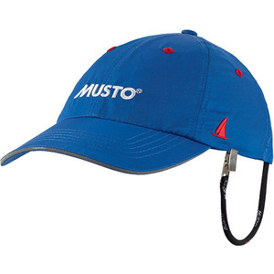 Musto Fast Dry Crew Cap In Brandungsblau Al1390