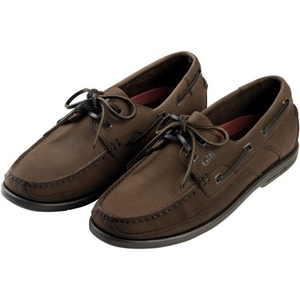 Gill Baltimore 2 Eye Deck Shoe in Dark Brown / Nubuck 920