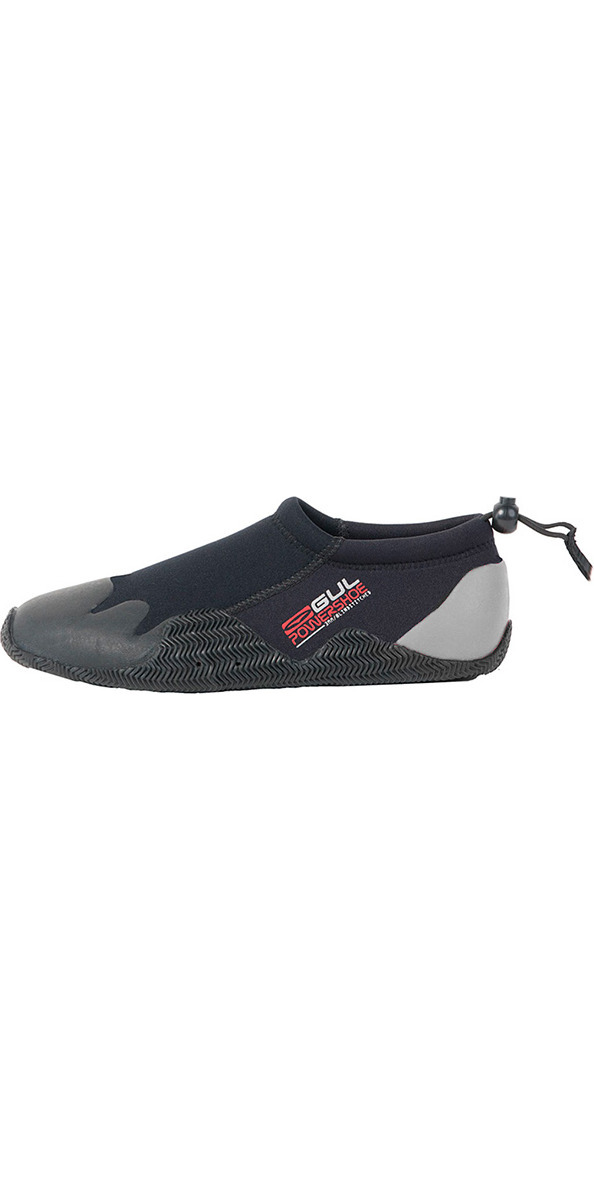 6bdd75b4ff9a 2018 Gul Kids Child Junior 3mm Power Slipper Shoe Black Grey Bo1267 ...