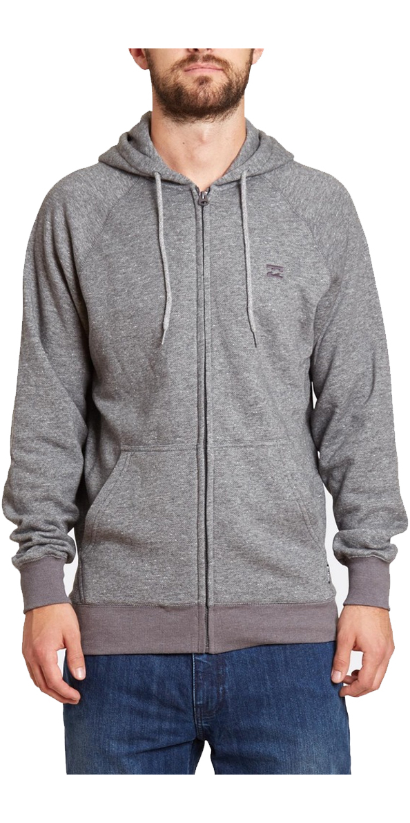 Felpa Z1fl07 Grey Dark Cappuccio Heath Balance Billabong Con 4yfA7q4P