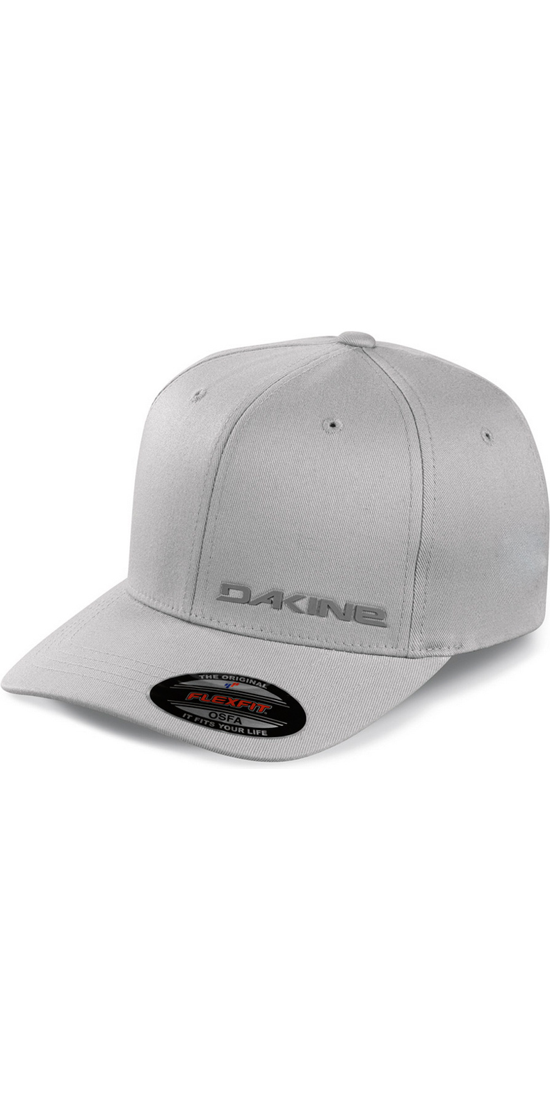 563c5cac106 2018 Dakine Silicone Rail Flexfit Cap in Grey 08640040 - 08640040 ...