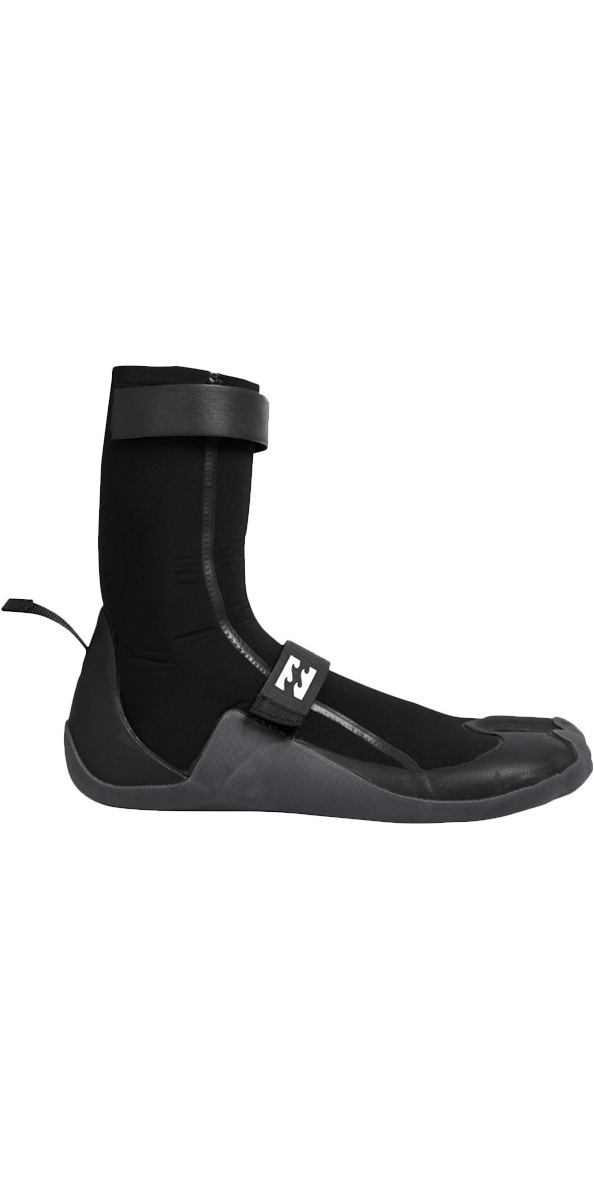 2019 Billabong Revolution 5mm Split Toe Neopreno Botas NEGRO F4BT18