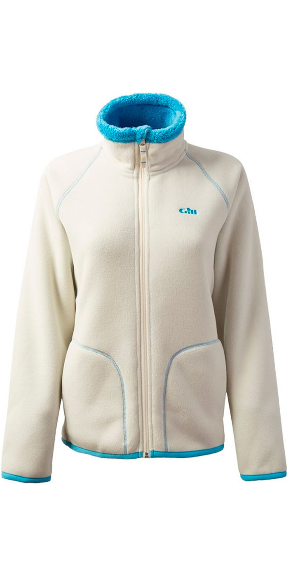 2018 Gill Ladies Polar Fleece Jacket Oatmeal 1702