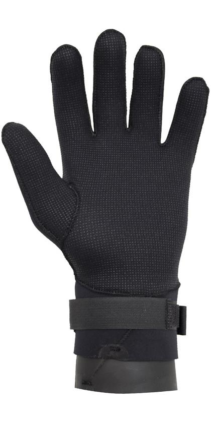 2020 Gul Junior 2.5mm Dry Handschoen Zwart GL1233-A6