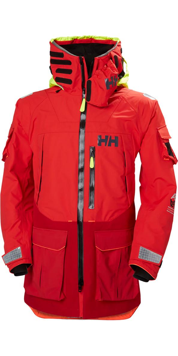 7d2663f58b 2019 Helly Hansen Aegir Ocean Jacke Alarm Rot 30335 - Helly Hansen ...