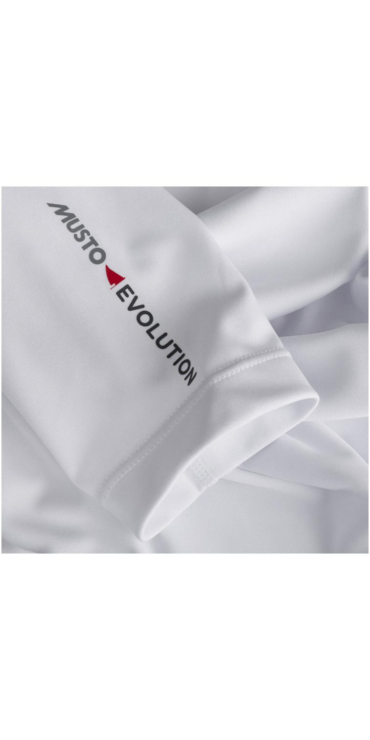 Musto Womens Evolution Dynamic T-shirt à manches longues blanc EWTS011