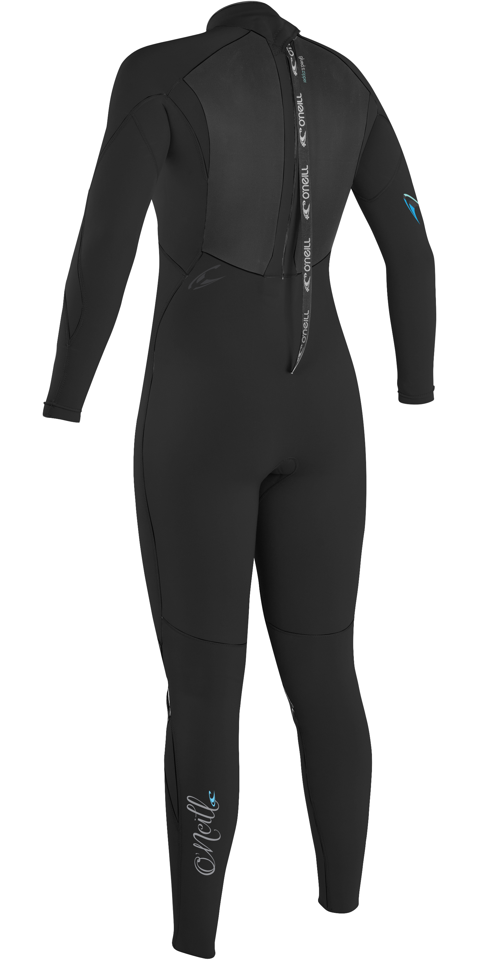 2018 O'Neill Womens Epic 5 / 4mm Back Zip GBS Wetsuit BLACK / BLACK 4218
