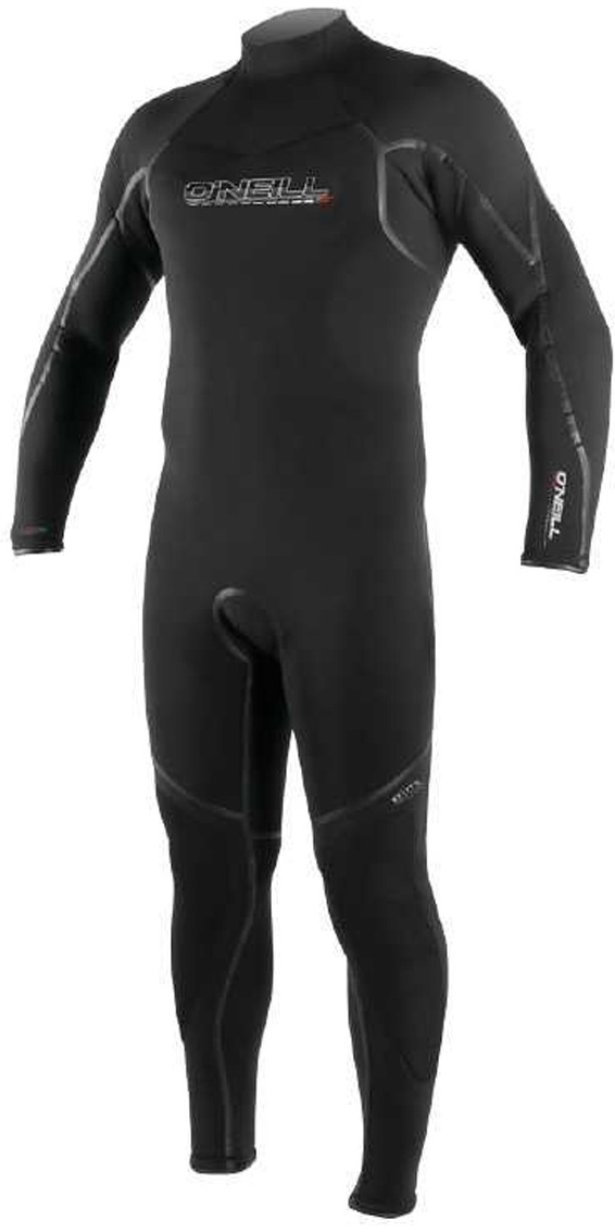2018 O'Neill Sector 7mm Dive Back Zip Wetsuit BLACK 3993