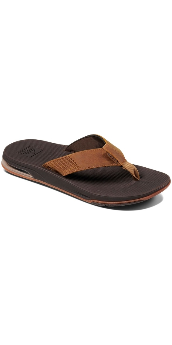d25bc295d27e 2018 Reef Mens Leather Fanning Low Flip Flops Brown Rf0a3kihorg ...