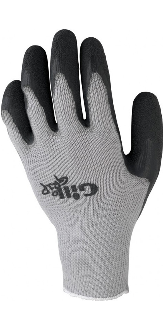 Gill Grip Glove Our simplest sailing gloves, designed to be worn and replaced regularly. The latex palm and fingers offer great grip and durability. You can even customise the fit by cutting them to size if you prefer a short finger glove. Despite their lightweight construction, they are given the full Gil treatment, building on years of research into and experience of sailing in all conditions. Comfort is always key and the built-in, breathable, seamless cotton liner ensures you're comfortable when out on the water. Features Textured latex palm and fingers for superior grip and tear resistance. Seamless cotton liner for comfort and dexterity. Fantastic grip in both wet and dry conditions. Fingers can be easily cut to size if you prefer short-fingered gloves. Colour-coded wrist band denotes sizing.