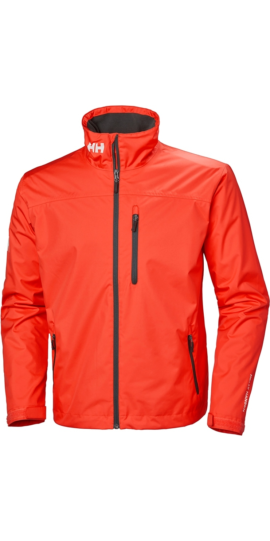 fe9f5b39 2019 Helly Hansen Herre Crew Midlayer Jacket Cherry Tomat 30253 ...