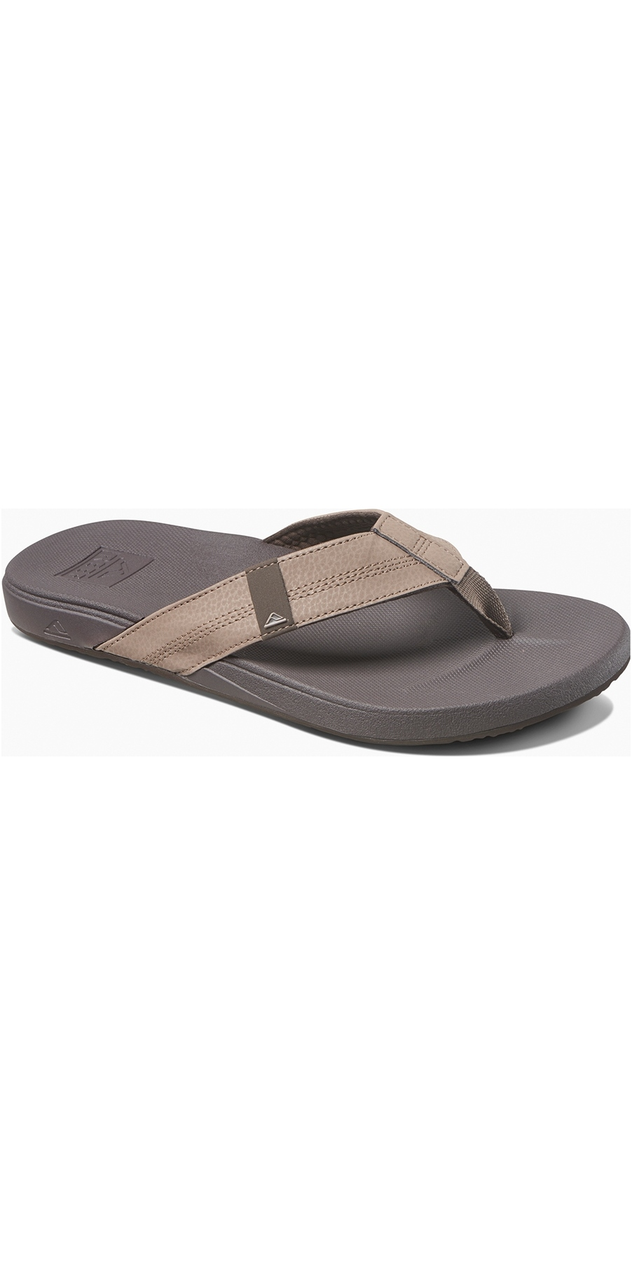 detailed look 31fb3 ddf5a 2019 Reef Herren Kissen Bounce Phantom Sandalen / Flip Flops Braun Rf0a3fdi