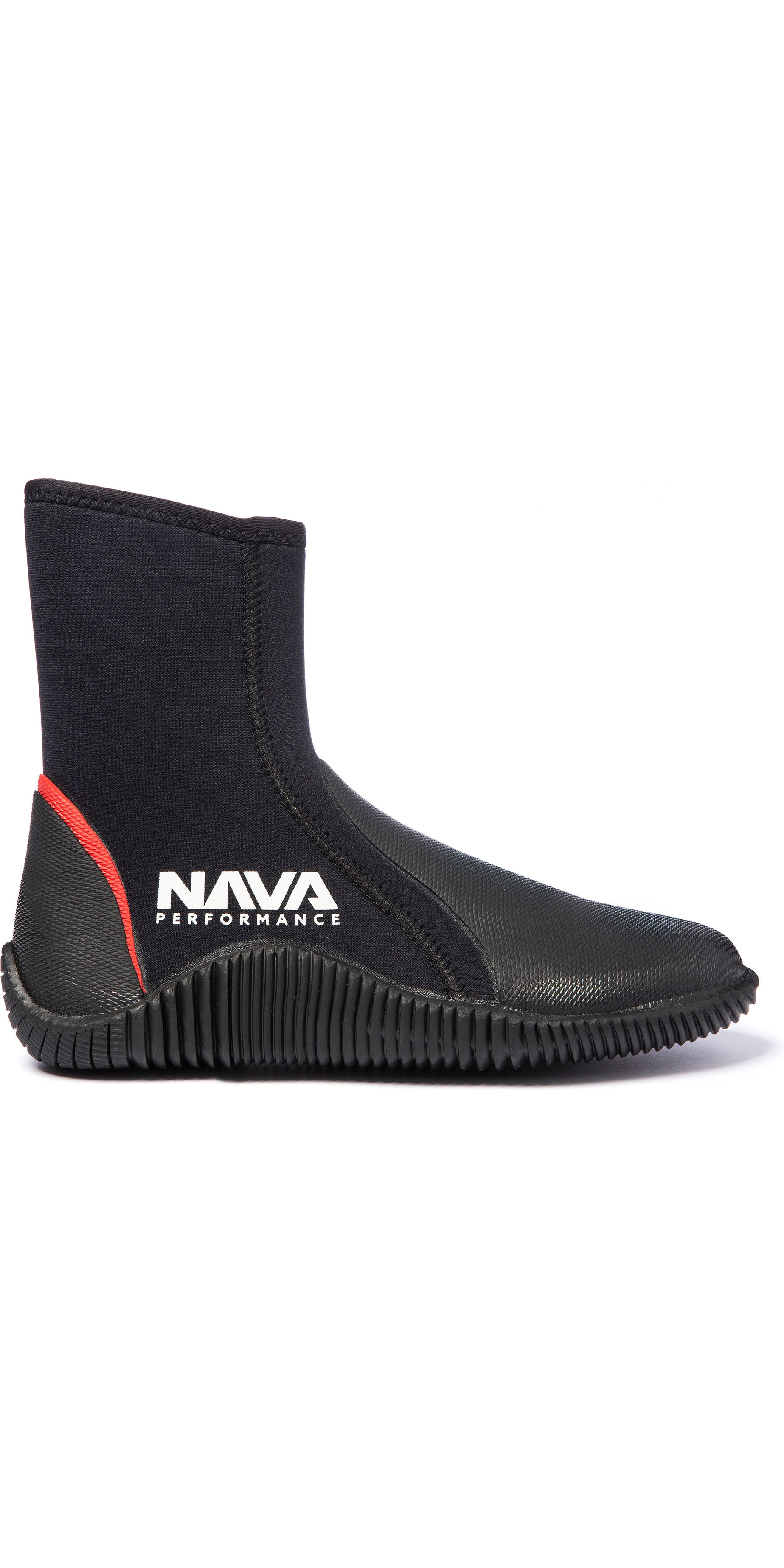 Botas Con Cremallera De Neopreno 2020 Nava Performance 5mm Navabt02 - Negro