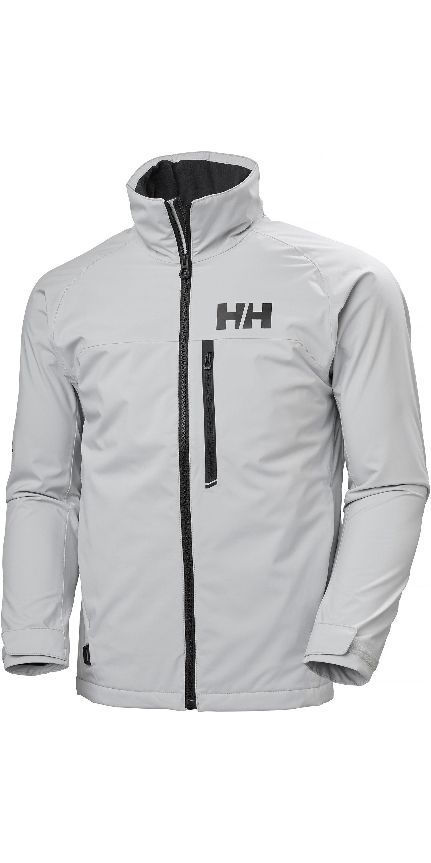 2020 Helly Hansen Herre Hp Racing Midlayer Jakke 34041 Grå Tåge