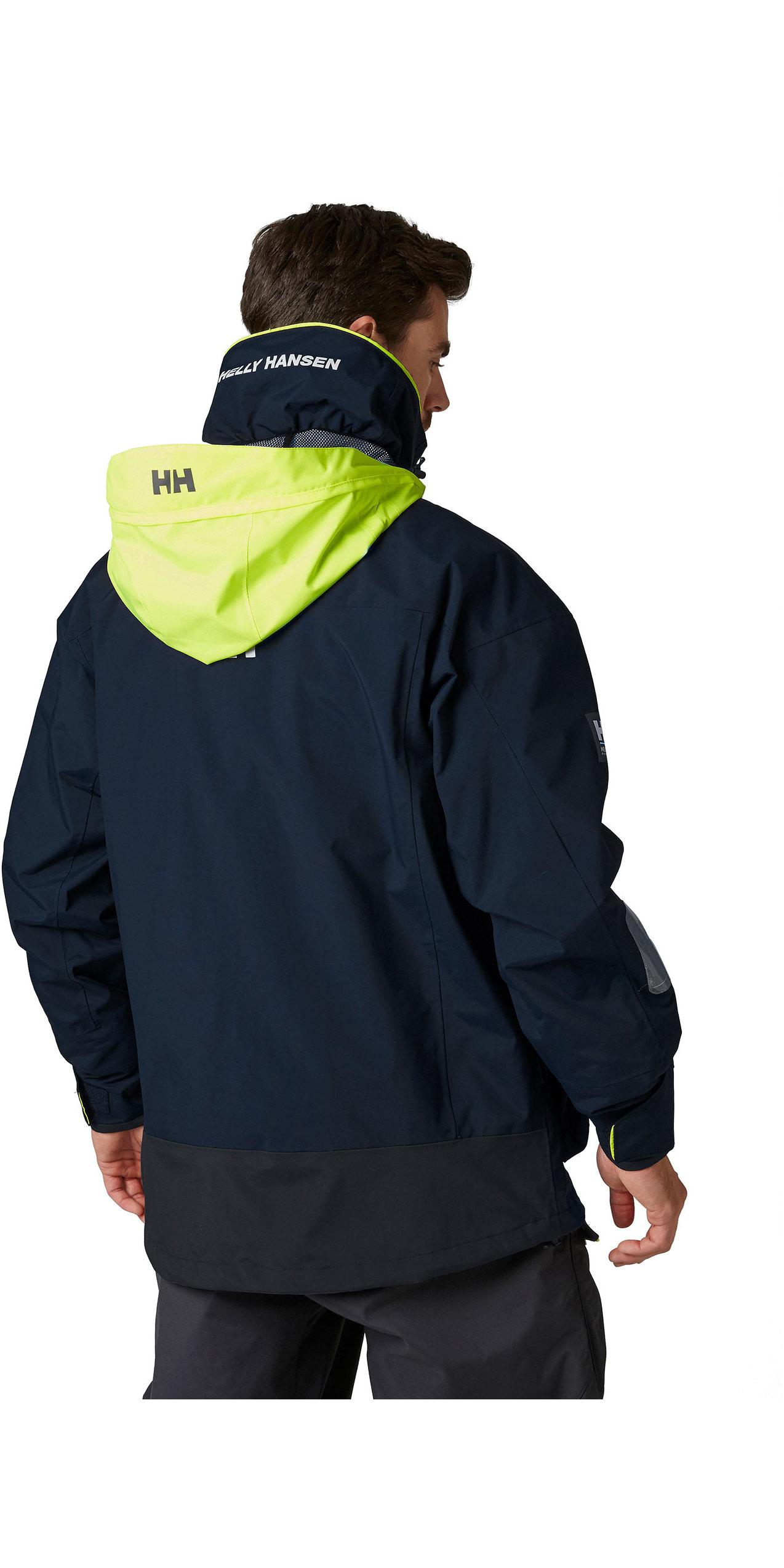 HELLY HANSEN Jakke, Pier Navy Helly Tech® Seiljakke