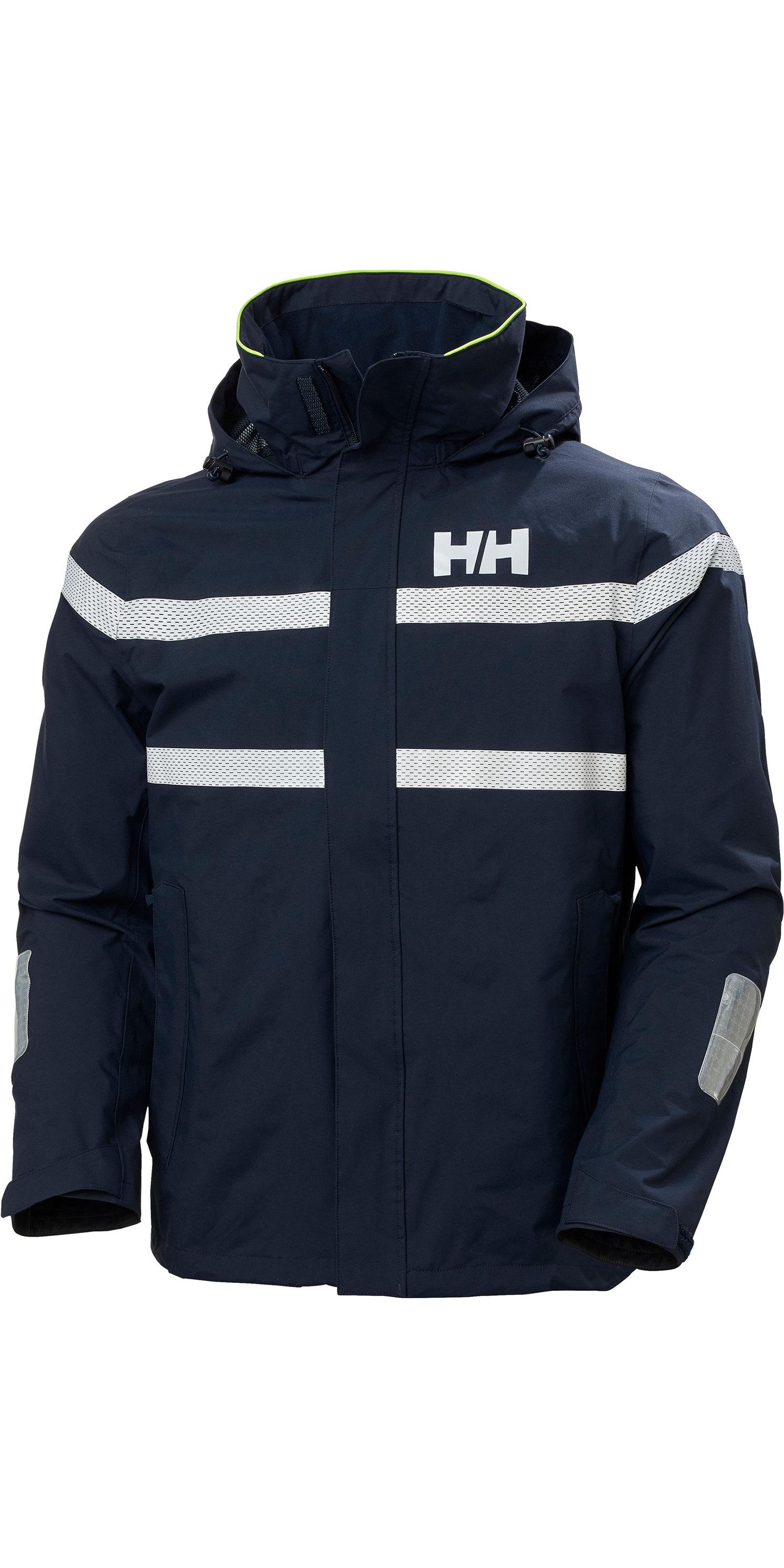 2020 Helly Hansen Mens Saltro Sailing Jacket 34173 Navy