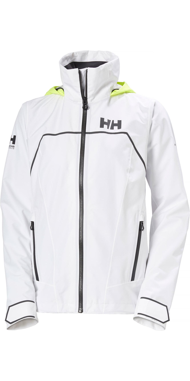 2020 Helly Hansen Hp Folie Leicht Segeljacke 34175 Weiß