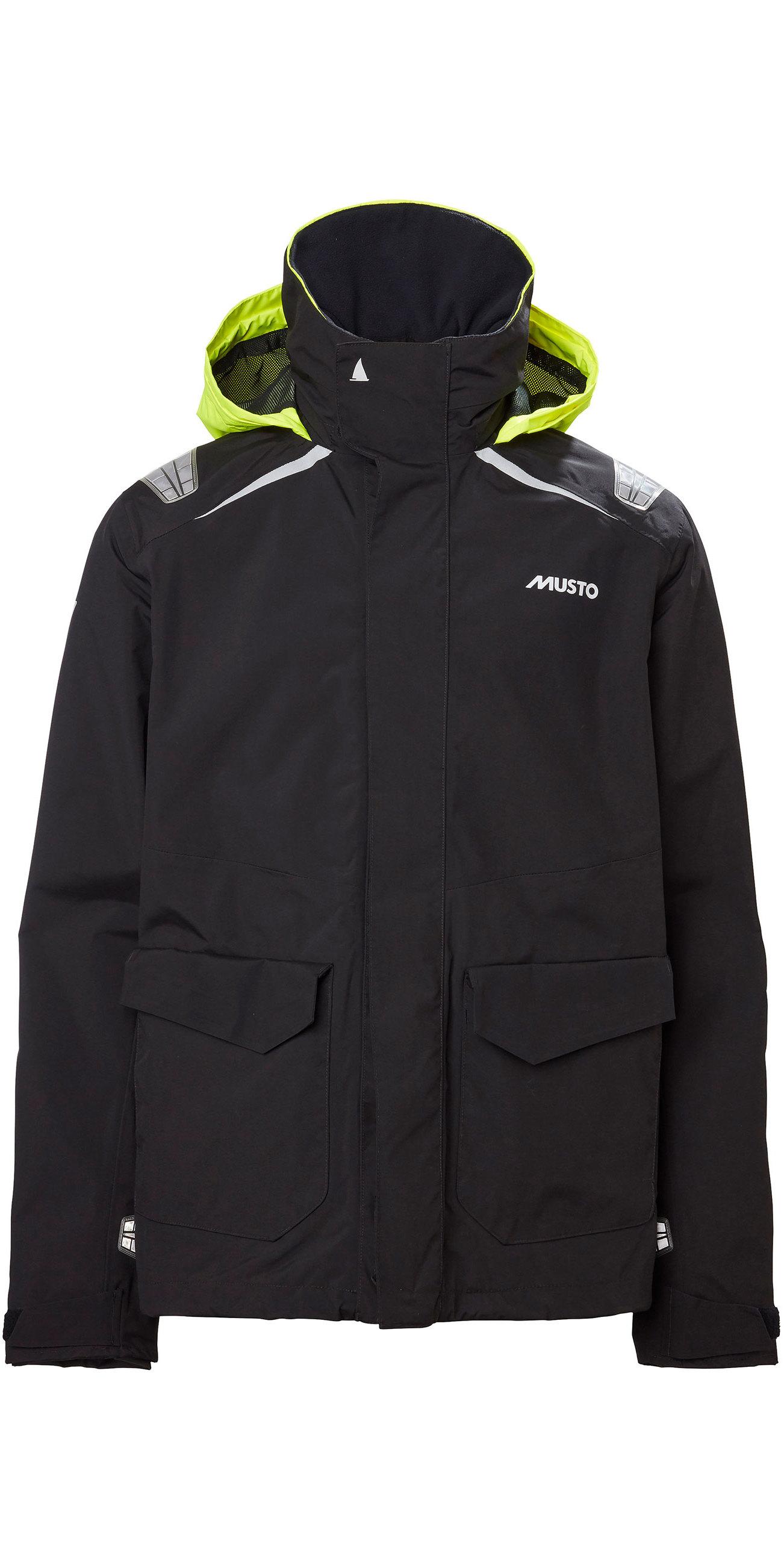2020 Musto Mens BR1 Inshore Sailing Jacket 81208 Black