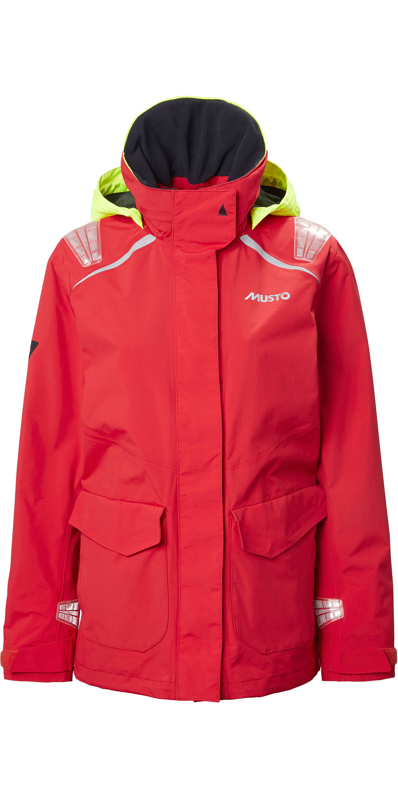 2020 Musto Womens BR1 Inshore Sailing Jacket 81221 True Red