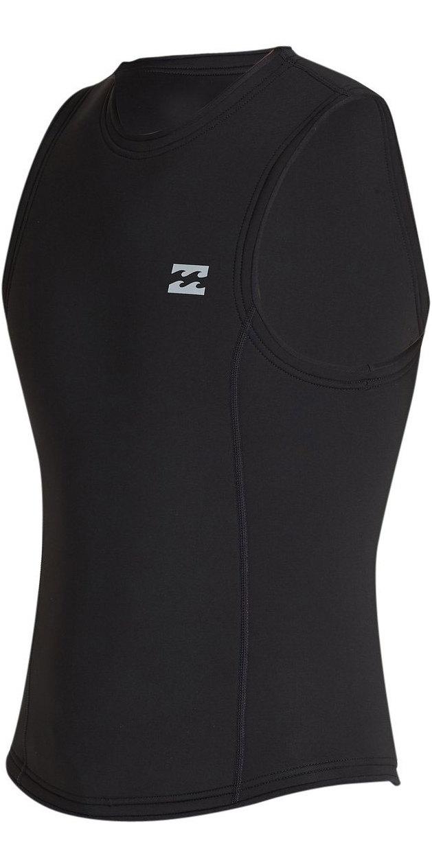 2020 Billabong Herres Absolute 2mm Neopren Vest S42m75 - Sort