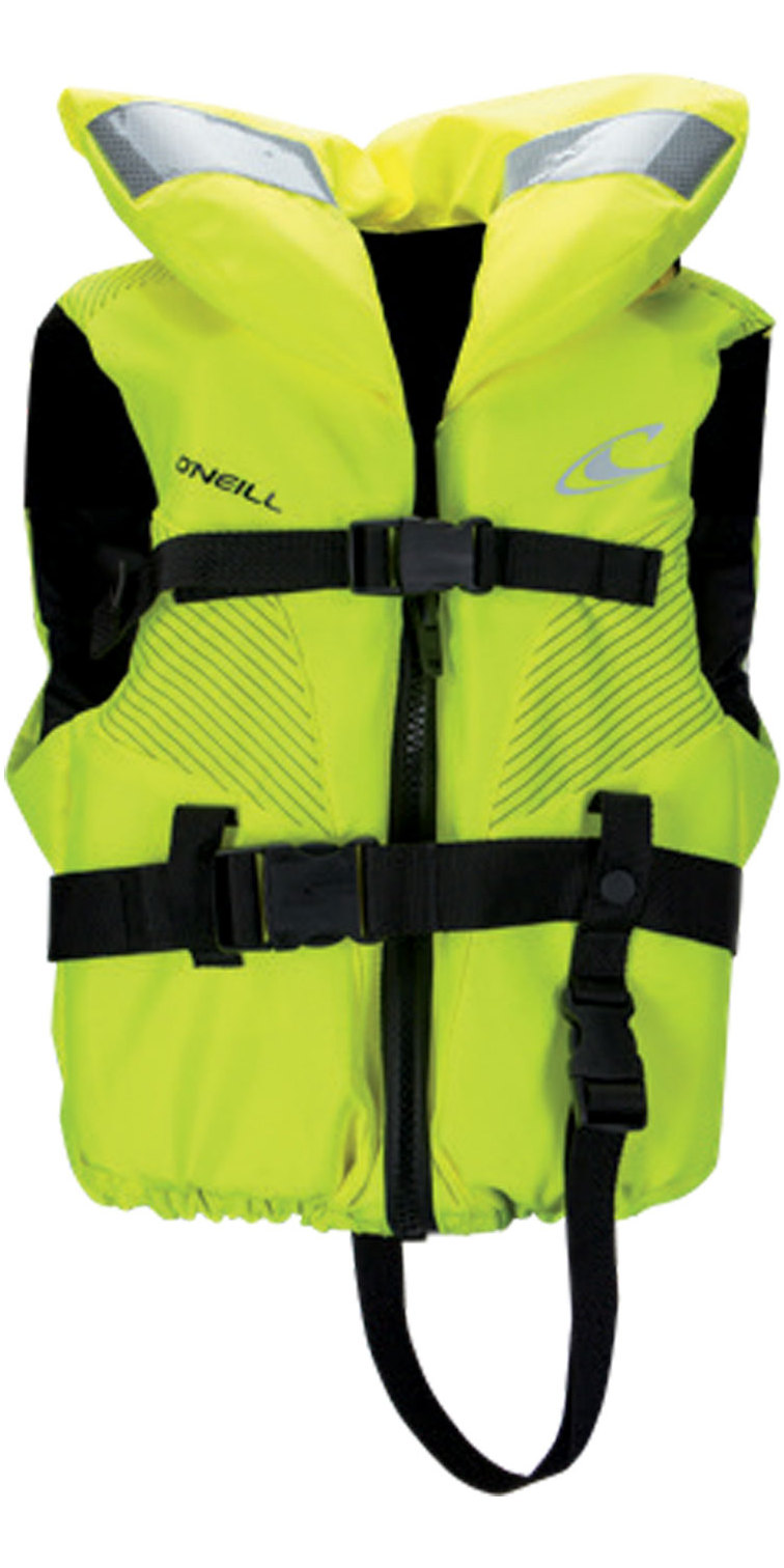 2019 O'neill Child Superlite 100n Iso Vest Neon Yellow 4726eu
