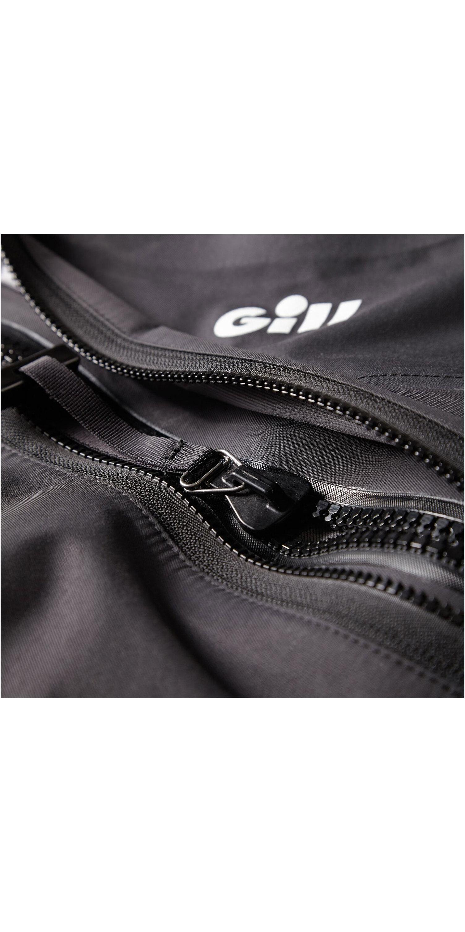2020 Gill Junior Front Zip Drysuit Zwart 4804j