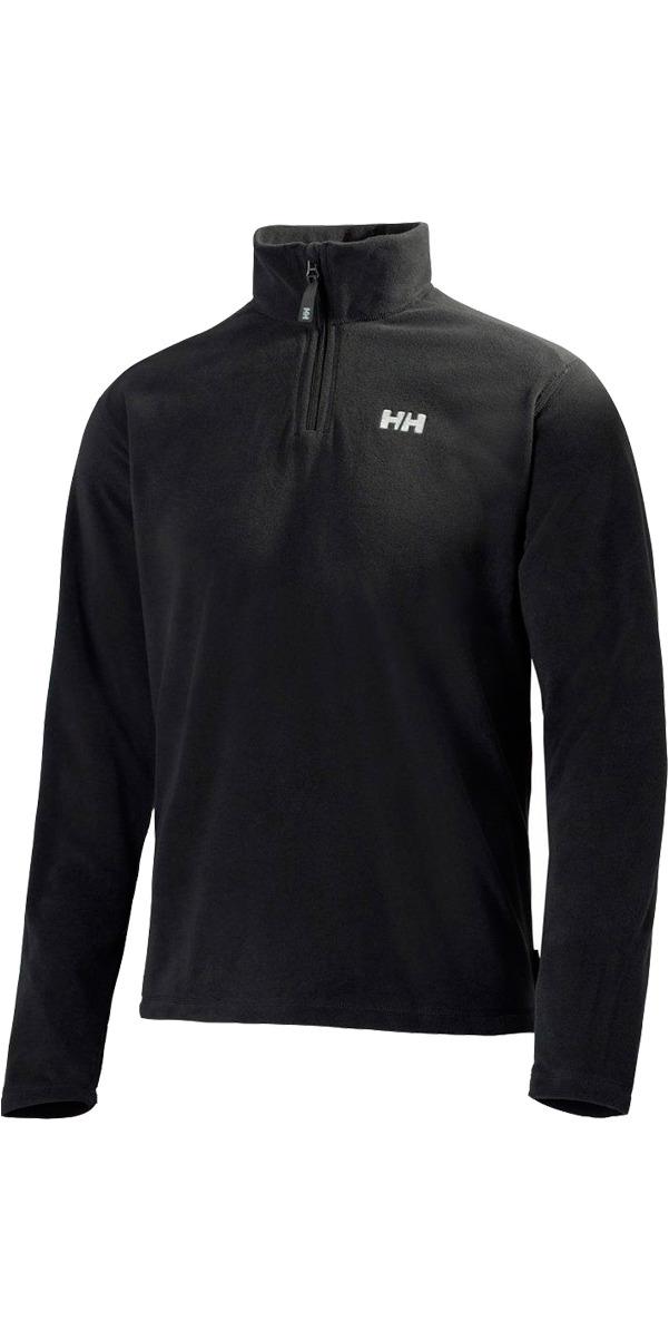 2019 Helly Hansen Mens Daybreaker 1/2 Zip Fleece Noir 50844