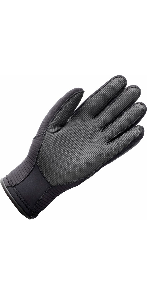 2019 Gill 3mm Neoprene Winter Gloves in BLACK 7672