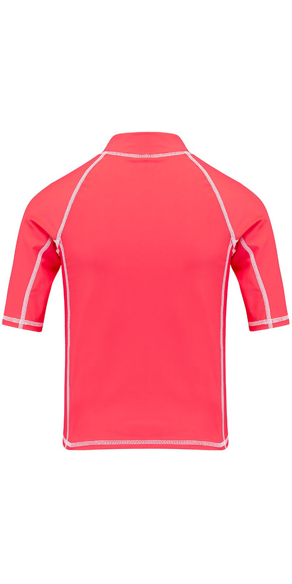 2018 Animal Junior Girls Molli rashvest met korte mouwen Petunia Pink CL8SN815