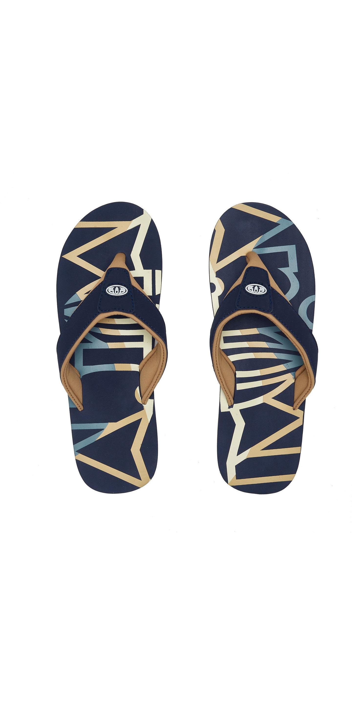 2020 Animal Miesten Bazil Logo Flip Flop Sandaalit Fm0ss002 Indigo Sininen