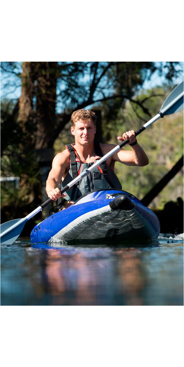 2019 Aquaglide Chelan 155 Hb Xl 3 Hombre Kayak Inflable De Alta Presión Azul - Kayak Only Agche3