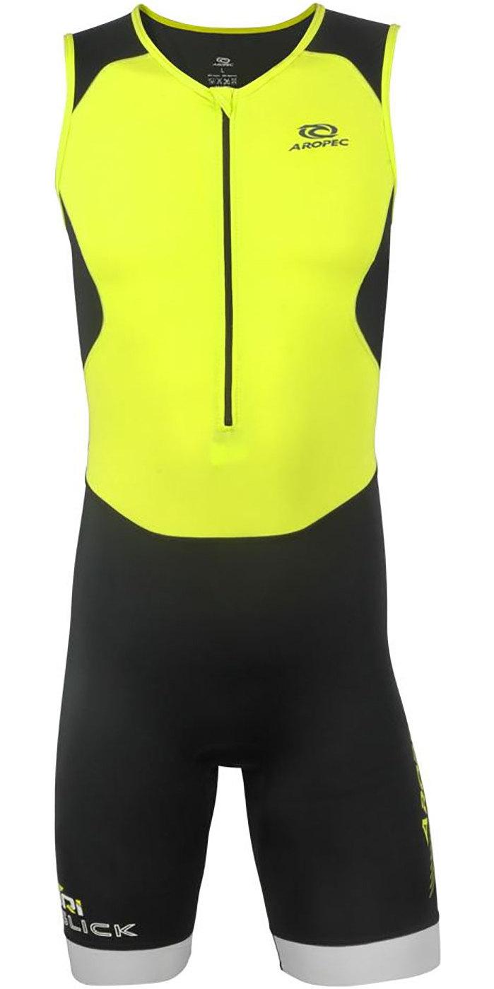 Aropec Combinaison de Triathlon en Lycra pour Homme UV 50