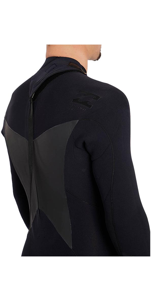 Billabong Absolute 3/2mm Gbs Back Zip Anzug Schwarz H43m16