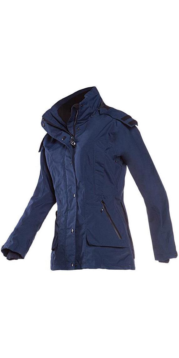 MUSTO bomber giacca giubbotto idrorepellente equitazione uomo invernale blu