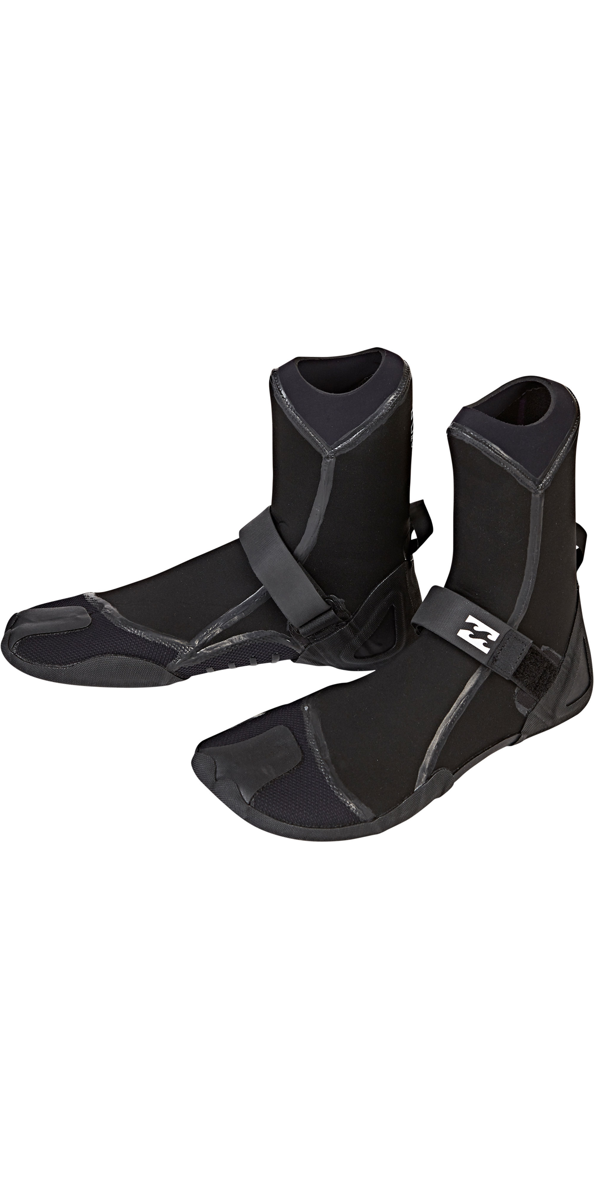 2019 Billabong Furnace Ultra 7mm Split Toe Stiefel Schwarz Q4BT03