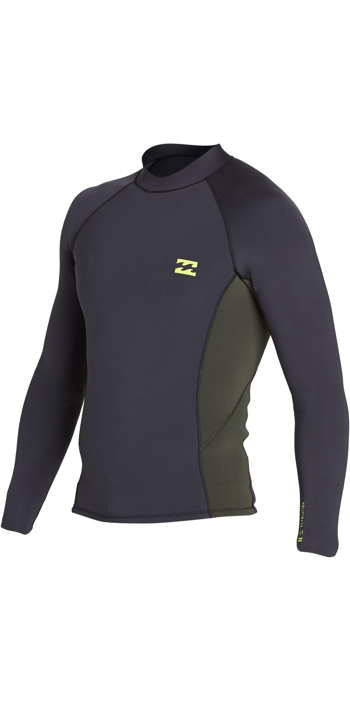 Billabong Fornace Vest con cappuccio termica Surf Nero