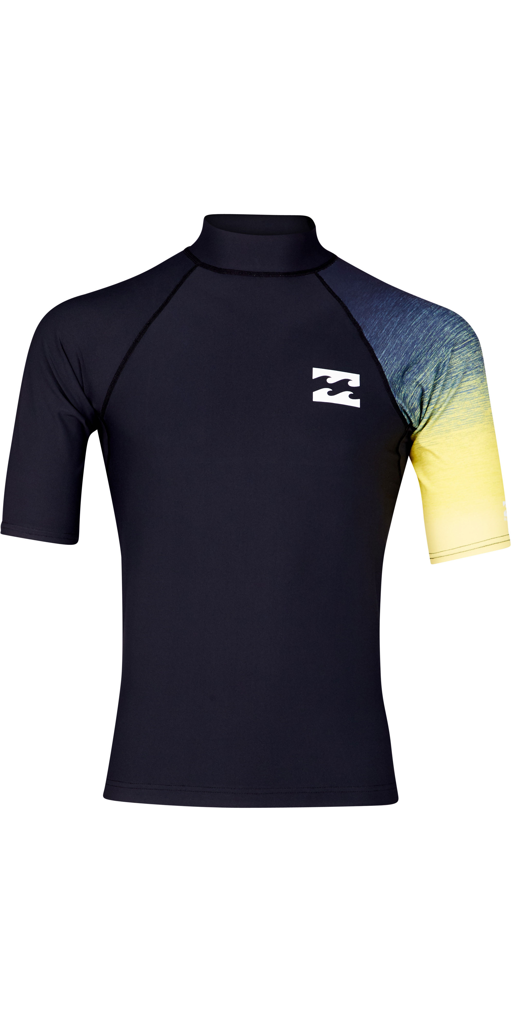 BILLABONG Junior Boys Unity Manica Lunga Rash Vest Top Rosso Completa Il Tuo Kit da Surf Performance con Unity Rashguard