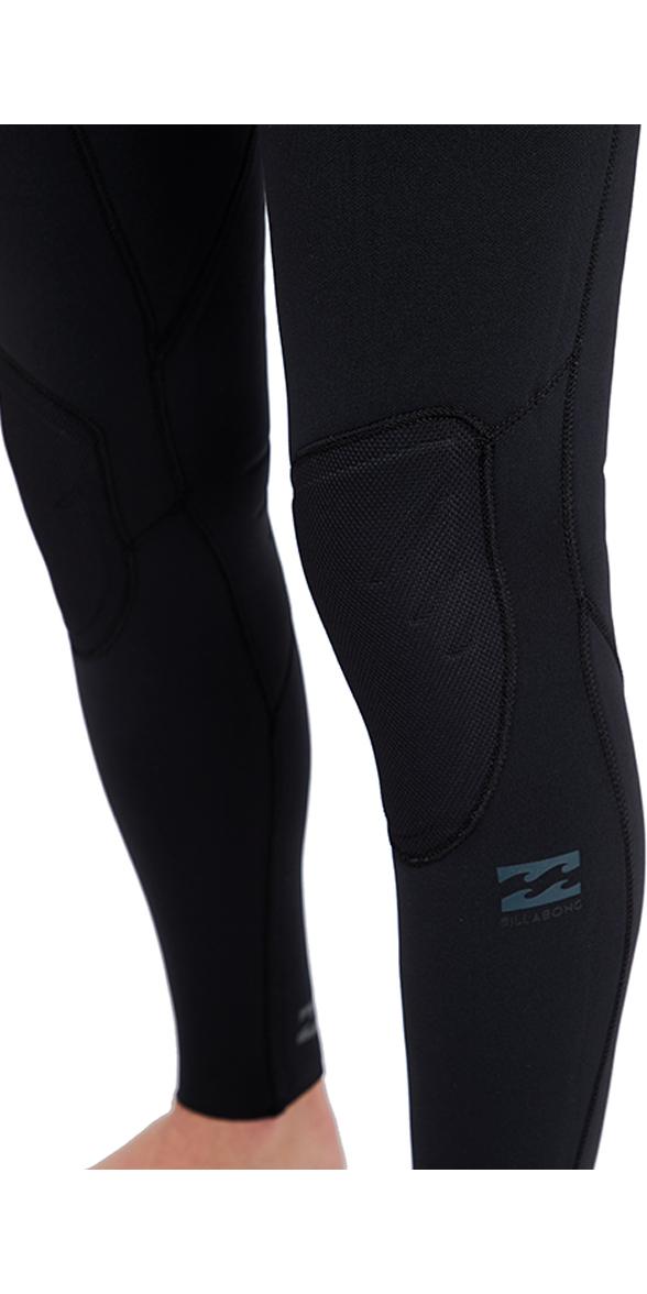 2018 Billabong Furnace Carbon Comp 5/4mm Ziperless Wetsuit Black L45M04