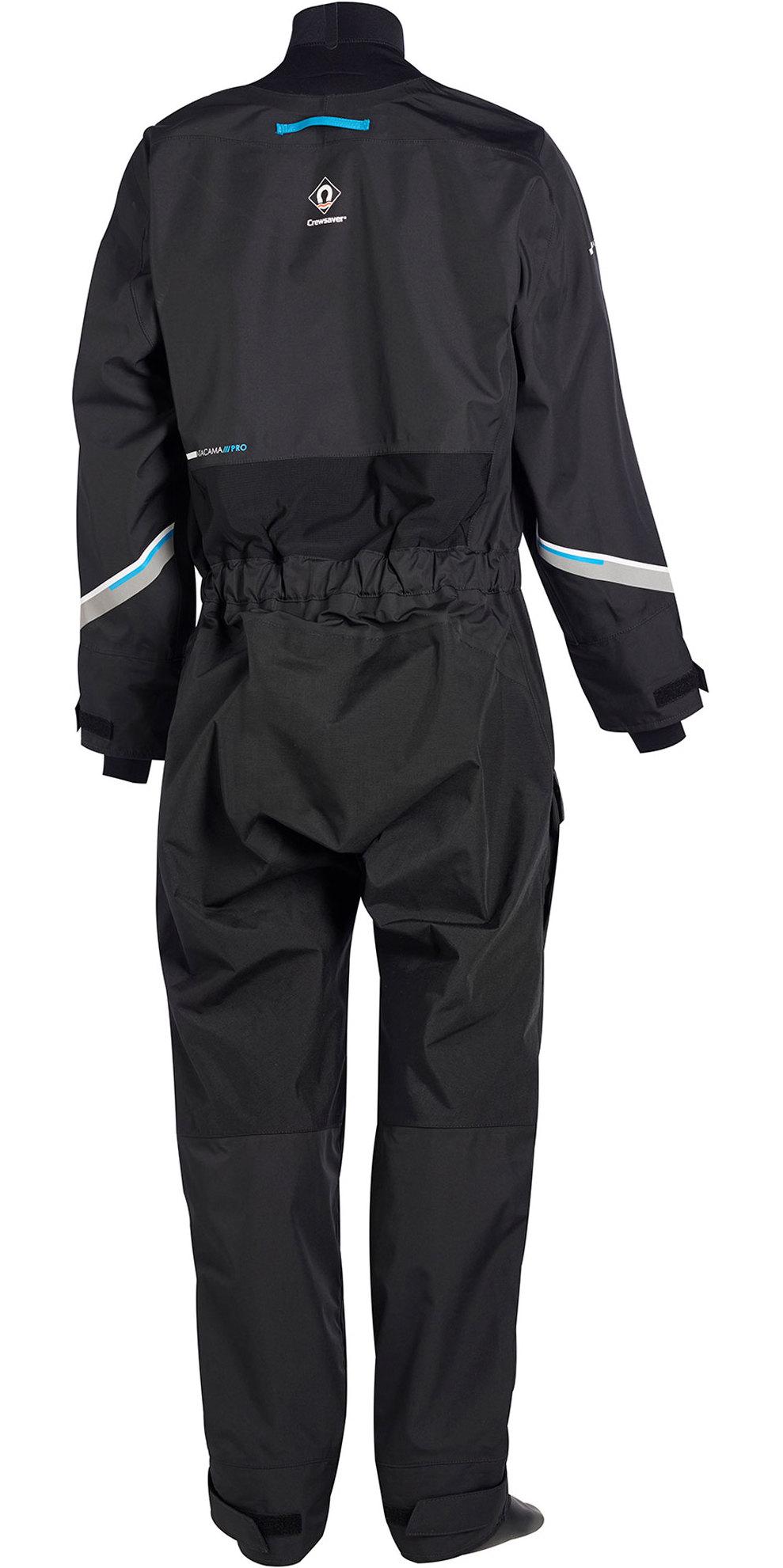 2020 Crewsaver Junior Atacama Pro Drysuit Incluyendo Ropa Interior Negro 6556j