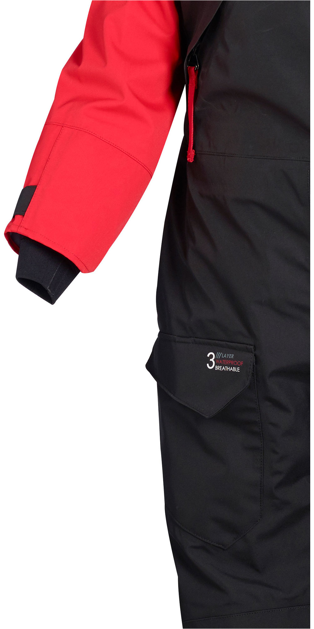 Crewsaver Drysuit Sport Atacama 2019 Crewsaver Y Compris Sous-vêtement Rouge / Noir 6555