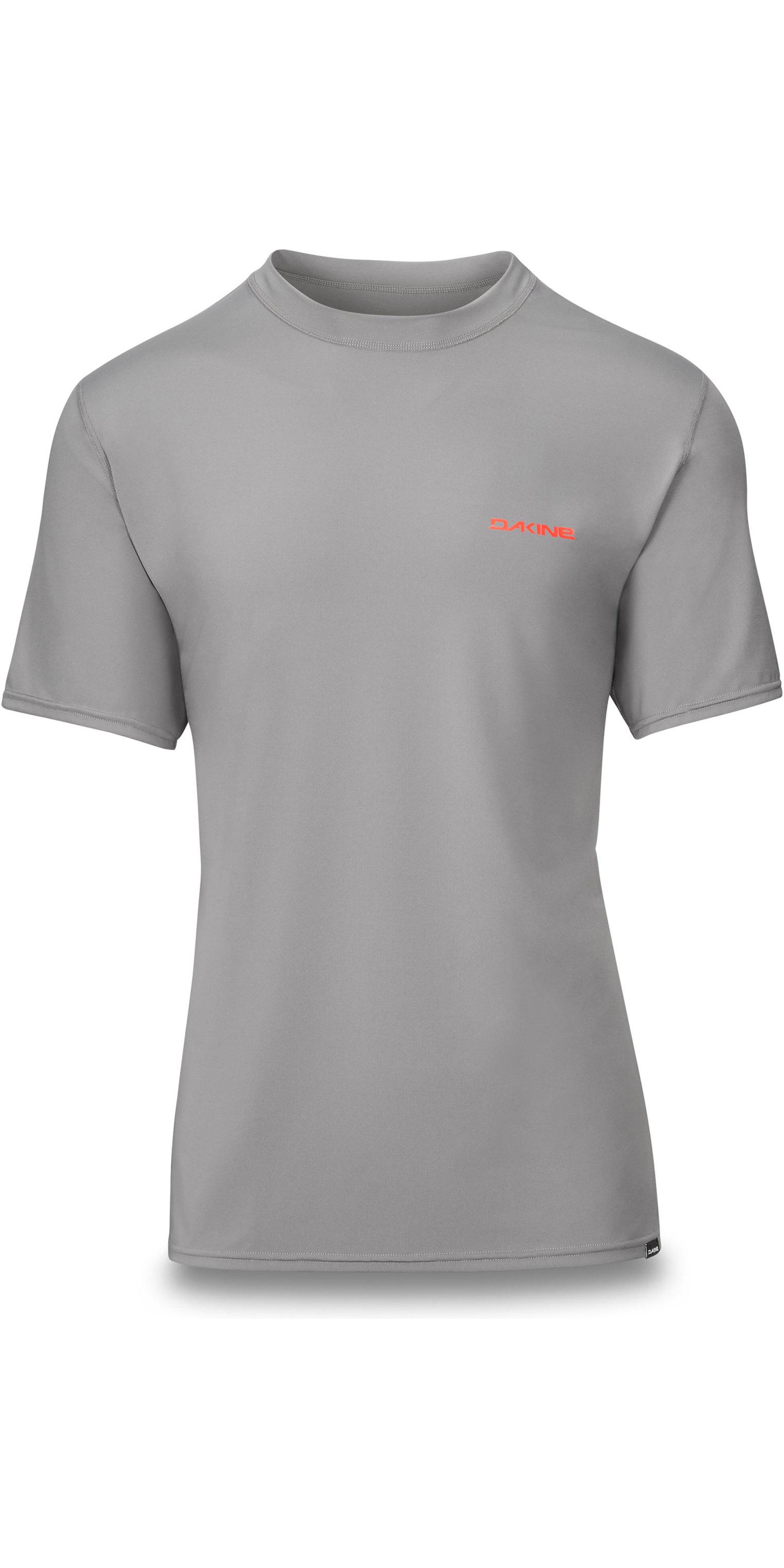 Dakine Mens Heavy Duty Loose Fit Long Sleeve Surf Shirt Carbon Short Sleeve