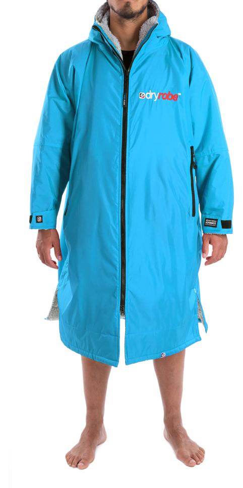 040870198f 2018 Dryrobe Advance - Long Sleeve Premium Outdoor Change Robe DR104 - L  SKY   GREY ...