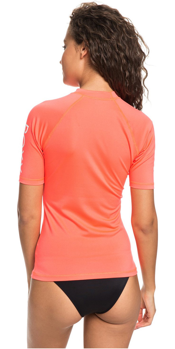 c4c5e6ba2b 2018 Roxy Womens Wholehearted Short Sleeve Rash Vest ODALISCA ERJWR03219 ...