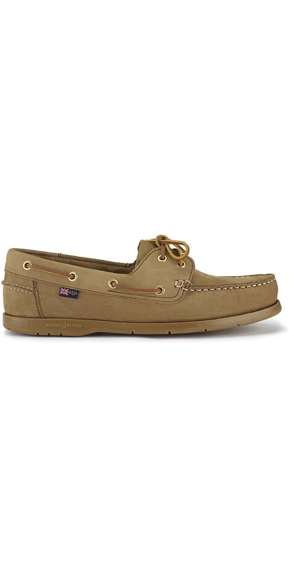 a4a08d162d4a 2019 Henri Lloyd Arkansa Deck Shoe Brown Nubuck   Caramel F94412 ...