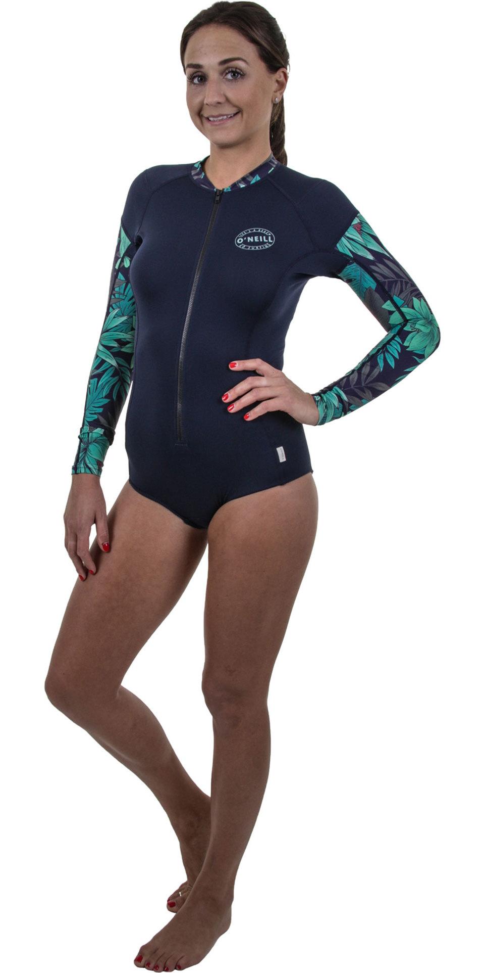 5d41990768760 2019 O Neill - Traje de surf de manga larga para mujer con cremallera  completa ...