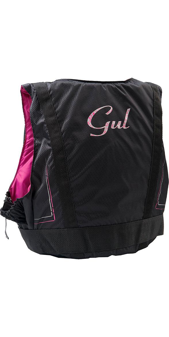 2020 Gul Damen Garda 50n Schwimmhilfe Schwarz / Pink Gm0162-a7