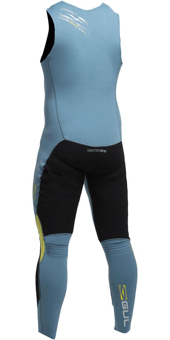 2020 Gul Code Zero 1mm Flatlock Long John Wetsuit Cz4309 Cz4309 -b2