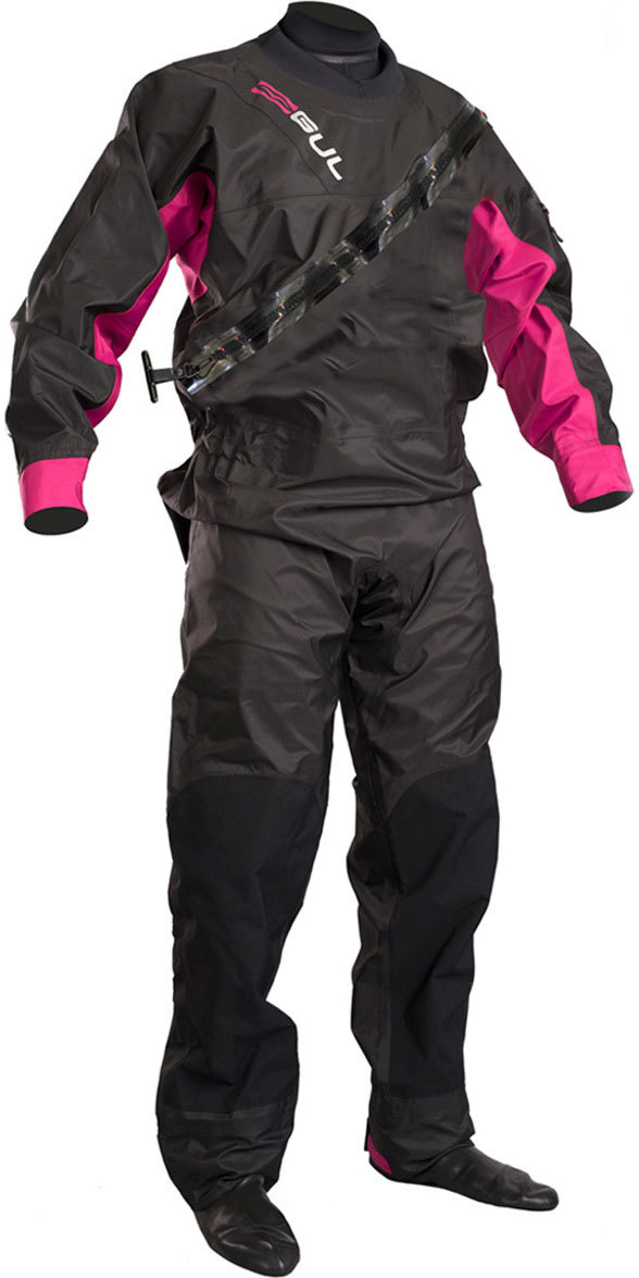 Drysuit Dartmouth Femme 2019 GUL Noir / Rose GM0383-B5